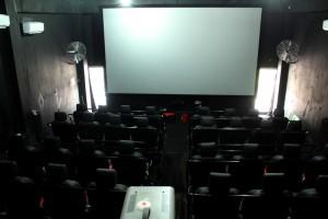 Ruangan Dalam Bioskop 6 Dimensi