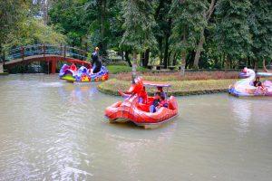 Becak Air Taman Kyai Langgeng