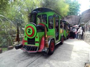 Wahana Kereta Mini Taman Kyai Langgeng