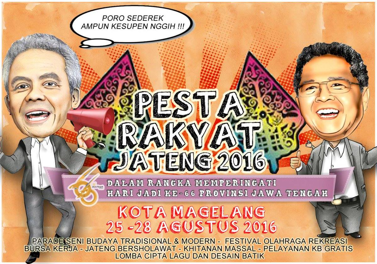 Pesta Rakyat Jawa Tengah 2016 Kota Magelang - Obyek Wisata Taman Kyai Langgeng