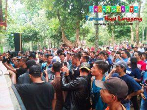 Lebaran Taman Kyai Langgeng Kota Magelang