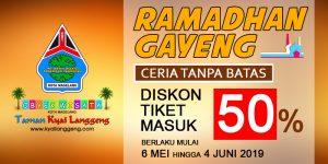 Diskon Tiket Masuk Ramadhan Taman Kyai Langgeng