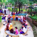 Kolam Terapi Ikan Taman Satwa Kyai Langgeng