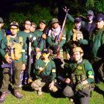 Kegiatan Air Soft Gun di Taman Kyai Langgeng