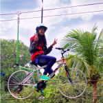 Sepeda Layang Obyek Wisata Taman Kyai Langgeng