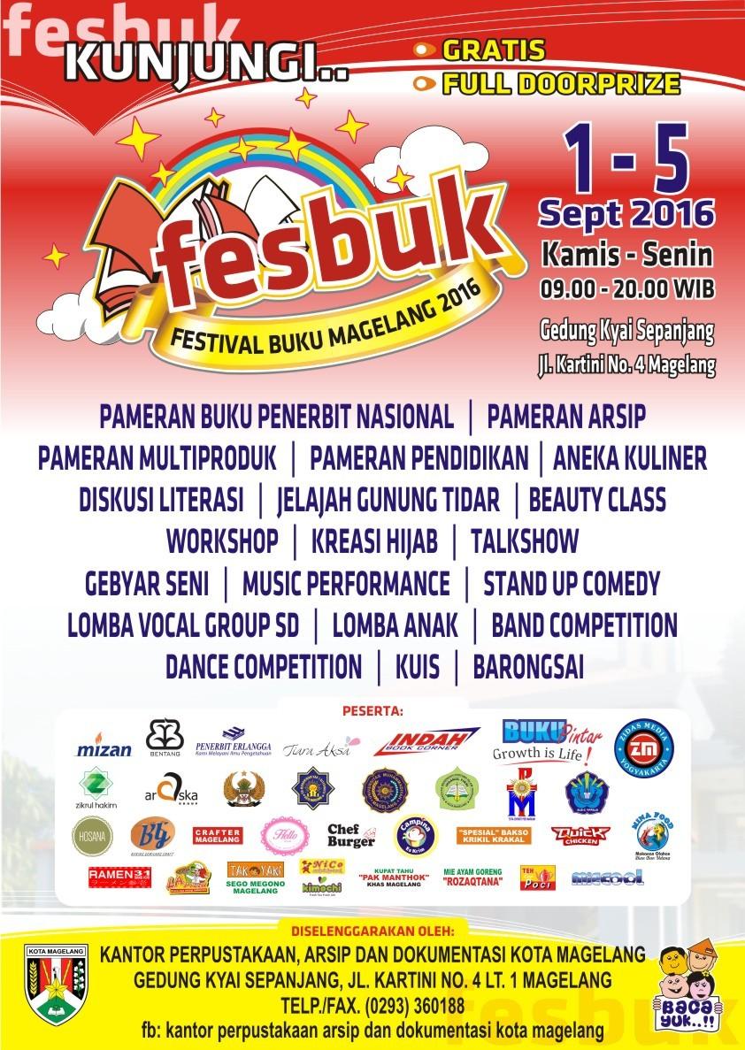 Festival Buku Kota Magelang 2016