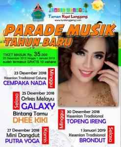 Promo Event Natal Tahun Baru 2018